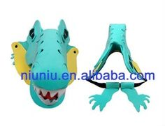 Cute Cartoon Animal Eva Visor For Child And Adult - Buy Eva Visor,Hat And Cap,Animal Hat Product on Alibaba.com
