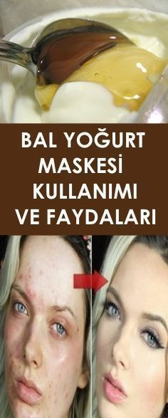 This natural homemade face mask is made from yogurt and honey. The yogurt and honey will hydrate and heal your skin. This mask is full of healthy skin nutrients! This mask is cheap, fast, easy to m… Yogurt, Best Skincare Products, Best Face Products, Facial Products, Homemade Face Masks, Homemade Skin Care, Skin Mask, Face Skin, Korean Skincare