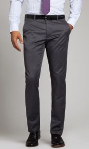 Friday Greys by Bonobos. Part of their Weekday Warrior collection of cotton dress pants, non-iron and sharp as can be (machine wash/dry).  Slim Straight Fit: Slightly tapered from knee down; Curved waist band for a better fit and no bunching.