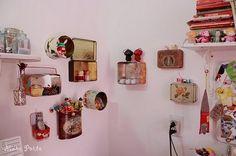meu cantinho: Dicas de reciclagem e decoração: quarto das crianças