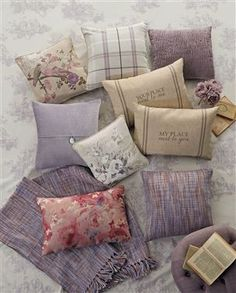 Perfect muted purples...