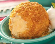 Yes, it's true, ice cream can be fried. This recipe shows just how easy it is to do, too. Just make sure to freeze your ice cream long enough so that it maintains its velveety texture after being deep-fried. Click here to see 13 Things You Didn't Know You Could Fry ...