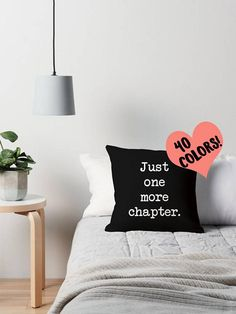 PILLOW DETAILS: • Sizes: 14x14, 16x16, 18x18, 20x20, or 26x26 • Material: 100% polyester • Available as a pillow case only, or a pillow case + stuffing • Design is printed on both sides • Zipper closure • Available in various background colors with white lettering. If you choose
