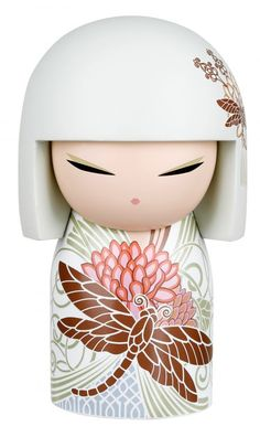 """Kimmidoll™ Kazumi - 'Passion' - """"My spirit brings energy and enthusiasm. With your passionate spirit and irrepressible energy, you inspire others to join you in your dreams and plans. May you be a positive force in the world and always achieve whatever you set out to do."""""""