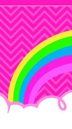 Rainbow Wallpaper, Heart Wallpaper, Locked Wallpaper, Pink Wallpaper, Cellphone Wallpaper, Mobile Wallpaper, Iphone Wallpaper, Pastel Background Wallpapers, Cute Wallpapers
