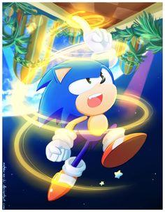 Drill! - Sonic The Blue Hedgehog Fan Art