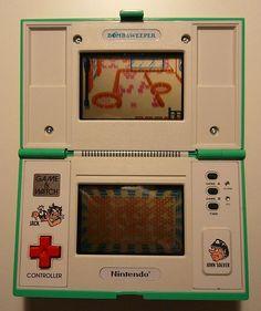 Bomb Sweeper (1987) Nintendo Game & Watch - Multi-screen Series