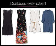 Exemples de robes à porter pour sa silhouette en H ou rectangle Morpho H, Summer Dresses, Sexy, Model, Inspiration, Clothes, Beauty, Style, Fit