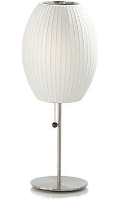 CIGAR-LOTUS-TABLE-LAMP George Nelson Cigar Lotus Bubble Table Lamp Best Price