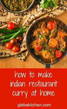 Indian restaurant curry techniques revealed.