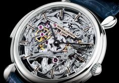 THE PLATINUM LES CABINOTIERS SKELETON MINUTE REPEATER, Vacheron Constantin Timepieces and Luxury Watches on Presentwatch