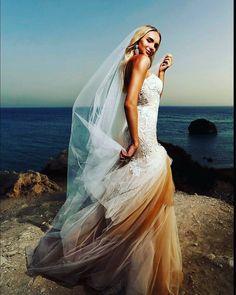 http://sb-charme.ru Свадебный Бутик Charme — Красавица Наташа на мысе Афродиты.  Эскизы  платья... #свадьба #любовь #невеста #платье #свадебноеплатье #wedding #weddingdress #платьеназаказ #sbcharme