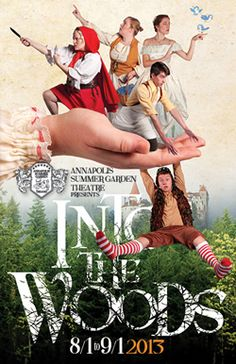 Into the Woods. Annapolis Summer Garden Theatre.