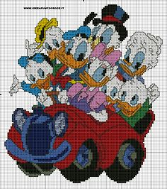 Donald Duck & Family 1 of 2