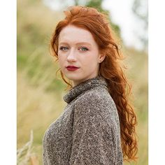 Redheads Magazine - I photographed @sophiethebird from #Scotland. blush Braveheart has always been one of my favorite movies and I'm glad this country is full of friendly people and beautiful nature. #redheadsmagazine #redhead #redhair #419