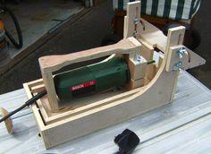 HOMEMADE Festool Domino XL DF 500 style mortising machine - by Don Johnson @ LumberJocks.com ~ woodworking community