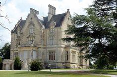 France.  Limousin.  Chateau de Cussac