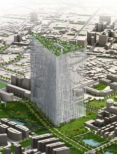 sou fujimoto taiwan tower-1 Sou Fujimoto, New Architecture, Japanese Architecture, Environmental Architecture, Pavilion Architecture, Classical Architecture, Futuristic Architecture, Oasis, Dappled Light