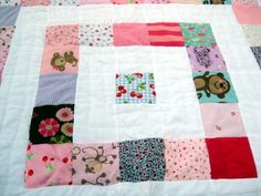 Baby Clothes Quilt      Custom Heirloom Memory Quilt
