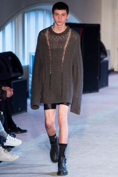 Maison Margiela Fall 2016 Menswear Fashion Show