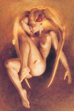 Gerard Di-Maccio 1938 | Visionary french painter