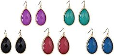 I love these earrings for fall.  www.katecarlyle.com