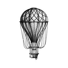 Vintage Old hot air ballon vector by sharpner on VectorStock® – BALLONS Fire Balloon, Air Balloon Tattoo, Airplane Drawing, Balloon Painting, Balloon Decorations, Illustrations, Vector Art, Vintage, Drawings