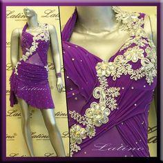 Latin Rhythm Salsa Ballroom Dance Dress Competition Size s M L . b99db0344d9