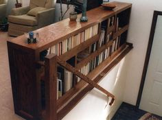 Best Bookcase Stair Rail Banister Back It With Glass Or 400 x 300