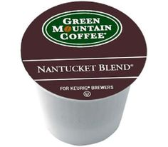 Green Mountain Coffee Nantucket Blend, K-Cup Portion Pack for Keurig Brewers 80-count