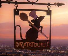 La Ratatouille - Pixar Wiki - Disney Pixar Animation Studios, La ratatouille sign.png
