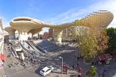 Metropol Parasol, Sevilla by Patryk Muntowski, via Behance