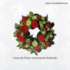 Coroa de Flores Sentimento Profundo  #CoroaFlores #Flores  http://ift.tt/1OvsJDV