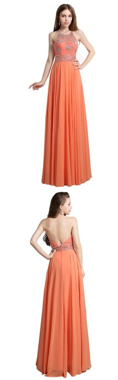 """This floor-length dress with a column silhouette and a high-neck are perfect to wear for a special autumn party! Like the idea? Click to get this dress on your size <3 Remember to use coupon code """"PTL20901"""" for an extra discount when you spend $100+"""