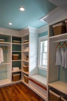 Boutique - Inspired Closet / Dressing Room - via HGTV