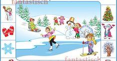 Зима, Признаки зимы, Наглядный плакат, для дошкольника Blog, Art, Art Background, Kunst, Blogging, Performing Arts, Art Education Resources, Artworks