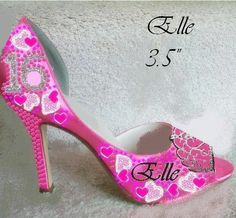 Quinceañera Sweet 16 Shoes personalized just for you by norakaren, $250.00