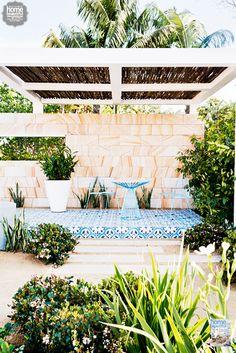 From the Australian Garden Show Sydney: Myles Baldwin's outdoor entertaining area