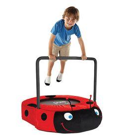 Love this Ladybug Jumper Trampoline by Pure Fun on #zulily! #zulilyfinds
