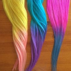 hair color for long hair hair color for long hair Peach Hair, Yellow Hair, Hair Color Blue, Purple Hair, Hair Colors, Blue Colors, Pink Purple, Hot Pink, Teal Yellow