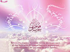 Happy Eid Mubarak Greetings Quotes