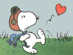 Snoopy out of love