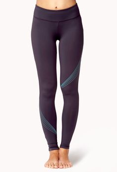 Reflective Skinny Workout Leggings   FOREVER21 Go for a run this weekend in these #Workout #Leggings #Exercise