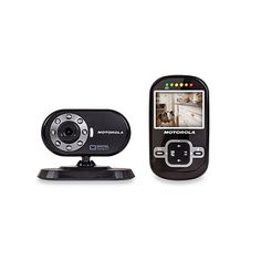 """Keep eyes on your pets with the Motorola Scout 600 Digital Wireless Video Pet Monitor. The convenient 2-way communication monitor showcases a 2.4"""" full color LCD screen, has digital pan and tilt functionality and infrared night vision."""