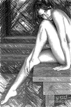 Steamy Hot Digital Art by Rafael Salazar