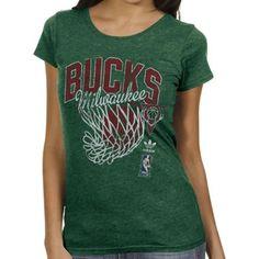 53410536 adidas Milwaukee Bucks Ladies Originals Nice Shot Too Cap Sleeve Fitted T- Shirt - Green. Spurs ShirtSan Antonio Spurs BasketballSpurs FansNba  StoreClothing ...