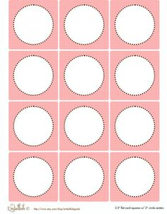 FREE Pink and Yellow Party Printables