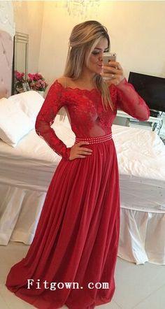 Lace dress Prom dresses 2016