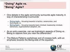In this webinar, we'll explore the patterns of mature agile managers and leaders: how they can effectively support, grow, coach, and empower agile teams. First Debate, Behavior, Leadership, Innovation, Management, Essentials, Explore, Patterns, Behance