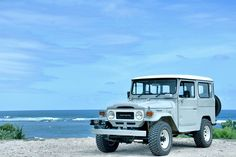 My lovely FJ40 Toyota Land Cruiser 1980 goes to West Java - Bali